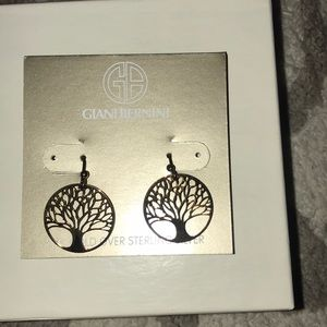 NWT- Giani Bernini Tree Earrings
